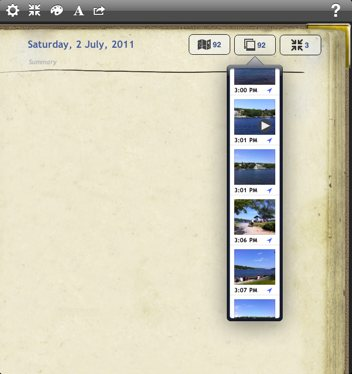 Remembary with the new images popover